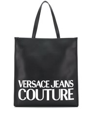 Versace Jeans Couture Logo Print Magnetic Closure Tote Bag 60