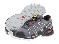 Salomon Speedcross 3 Dark Cloud Black Light Onix Men's Running Shoes Gray