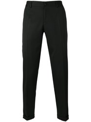 Dolce And Gabbana Slim Fit Chinos Black