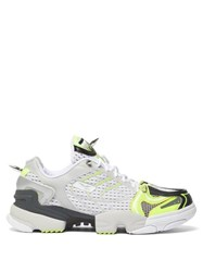 Vetements X Reebok Spike Runner 400 Mesh Trainers Yellow