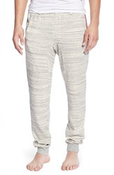 2Xist Men's 2 X Ist Marl Stripe Lounge Pants