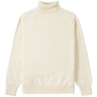 Mhl By Margaret Howell Mhl. Saddle Sleeve Roll Neck Neutrals