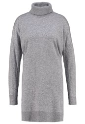 Opus Wanni Jumper Dress Strong Grey
