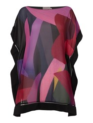 Ted Baker Abstract Jungle Cover Up Black Multi