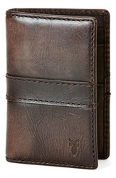 Frye Men's 'Oliver' Leather Wallet Brown Smoke
