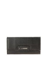 Kenneth Cole Reaction Never Let Go Trifold Flap Clutch Black