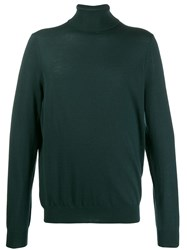 Closed Turtle Neck Sweater Green