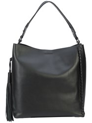 Allsaints All Saints Relaxed Shopping Tote Black