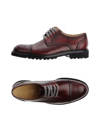 Cantarelli Lace Up Shoes Maroon