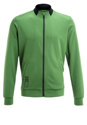 Zalando Sports Tracksuit Top Artichoke Green