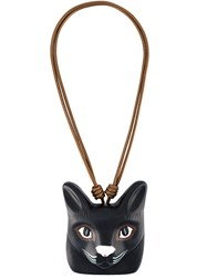 Loewe 'Cat Face' Necklace Black