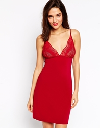 Calvin Klein Infinite Lace Chemise Dylanred