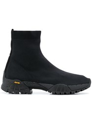 Alyx Knit Laceless Ankle Boot Black