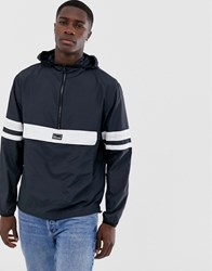 Only And Sons Overhead Lightweight Jacket Navy
