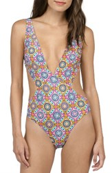 Volcom Women's Current State One Piece Swimsuit