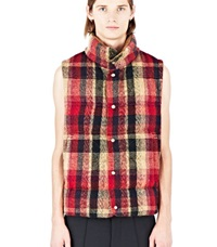 Missoni Reversible Plaid Gillet