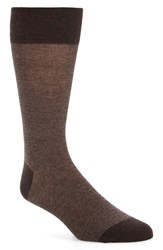 Cole Haan Men's Pique Texture Crew Socks