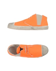 Gienchi High Tops And Trainers Orange