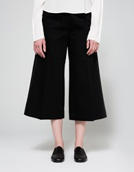 Christophe Lemaire Large Cropped Pants Black