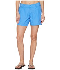 Columbia Coral Point Ii Short Harbor Blue Women's Shorts