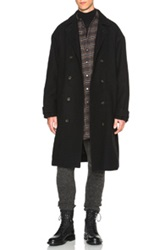 Robert Geller James Coat In Black