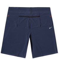 Nike X Undercover Gyakusou Dri Fit Woven Short Midnight Navy Black And Gym Red