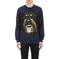 Givenchy Men's Rottweiler Graphic Sweatshirt Navy