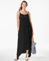 Raviya Solid Maxi Dress Cover Women's Swimsuit