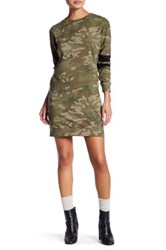 Fire Camo Sweatshirt Dress Multi