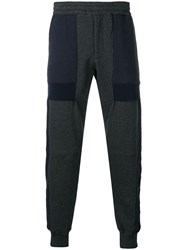 Alexander Mcqueen Oversized Pockets Track Trousers Grey