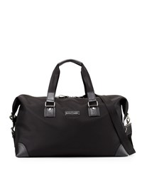 Christian Lacroix Globetrotter Nylon Duffle Bag Black