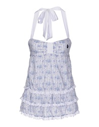 Duck Farm Tube Tops Blue