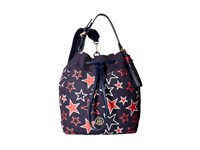 Tommy Hilfiger Summer Of Love Pebble Sling Backpack Navy Red Backpack Bags Multi