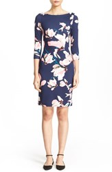 Erdem Women's Reese Floral Print Jersey Sheath Dress