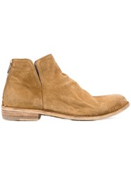 Officine Creative 'Legrand' Boots Boots Women Leather Suede 41 Nude Neutrals