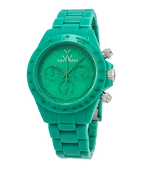Toywatch Monochrome Green Plasteramic Watch