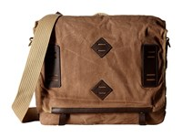 Will Leather Goods Mirror Lake Messenger Field Tan Messenger Bags