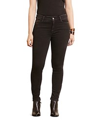 Ralph Lauren Plus Ankle Zip Skinny Jeans In Christie Wash