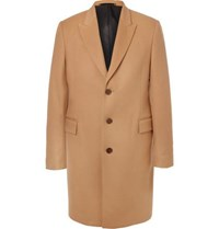 Paul Smith Wool And Cashmere Blend Coat Camel