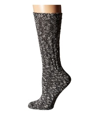 Lauren Ralph Lauren Rag Cotton Crew Black Women's Crew Cut Socks Shoes