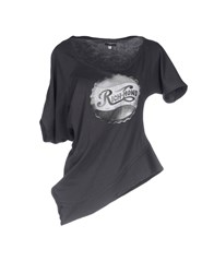 Richmond Denim T Shirts Steel Grey