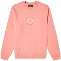 Fred Perry Fleeceback Sweat Pink