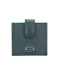 Dolce And Gabbana Document Holders Green