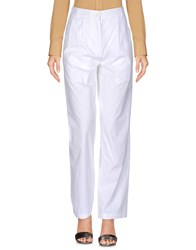 Douuod Casual Pants White