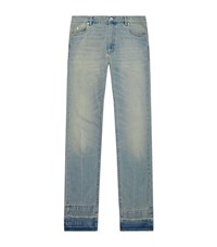 Maison Martin Margiela Slim Fit Vintage Washed Jeans Male Light Blue