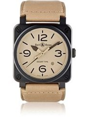 Bell And Ross Br 03 Desert Type Watch Black