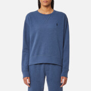 Ralph Lauren Women's Crew Neck Sweatshirt Shale Blue Heather