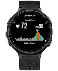 Garmin Unisex Forerunner 235 Black Silicone Strap Watch 31Mm 010 03717 54
