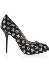Lucy Choi London Angel Sequin Embellished Pumps