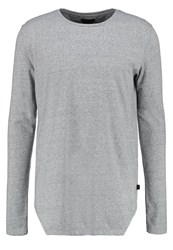 Tiger Of Sweden Jeans Grit Long Sleeved Top Med Grey Mel
